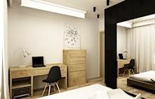 Zdjęcie: Sypialnia styl Industrialny