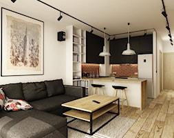 SOFT INDUSTRIAL NA BEMOWIE - Salon, styl industrialny - zdjęcie od design me too