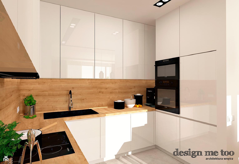 GRAZIOSO APARTAMENTY - Średnia zamknięta kuchnia w kształcie litery u, styl nowoczesny - zdjęcie od design me too - Homebook