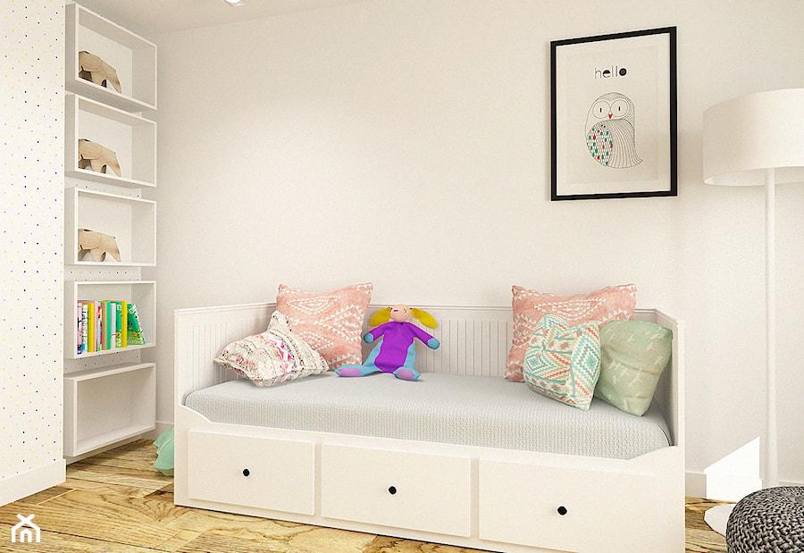 Pokój dla dziewczynki w apartamencie w Tomaszowie Mazowieckim - zdjęcie od design me too