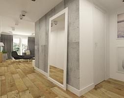 Nowoczesny+hol+w+apartamencie+w+Tomaszowie+Mazowieckim+-+zdj%C4%99cie+od+design+me+too