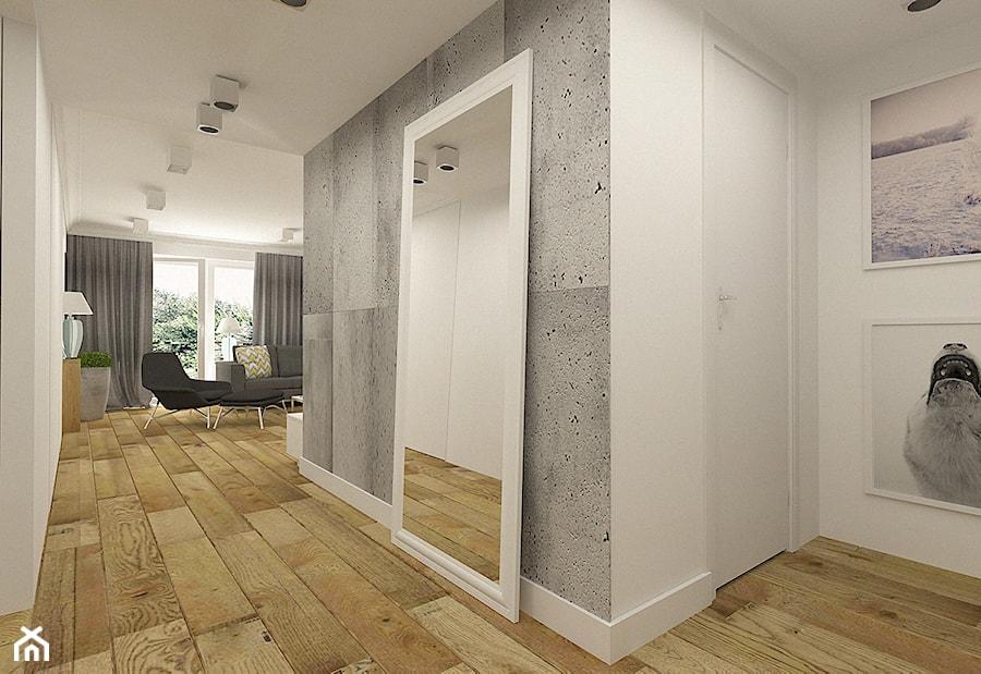 Nowoczesny hol w apartamencie w Tomaszowie Mazowieckim - zdjęcie od design me too