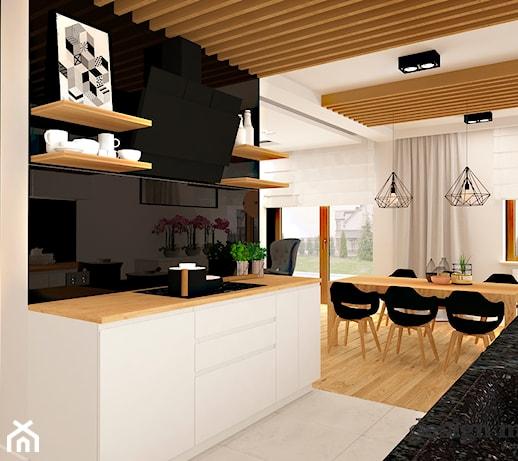Nowoczesna Kuchnia Otwarta Na Salon Pomysly Inspiracje Z Homebook
