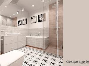KAWAŁEK NIEBA NA WILANOWIE - Średnia biała łazienka bez okna, styl klasyczny - zdjęcie od design me too