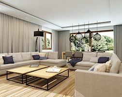 Nowoczesny, minimalistyczny salon - zdjęcie od design me too