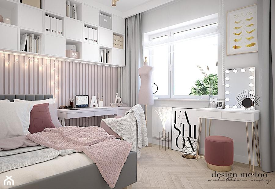 PUDROWY GOCŁAW - Pokój dziecka, styl glamour - zdjęcie od design me too