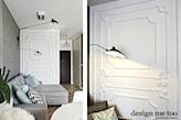 ściany w stylu francuskim