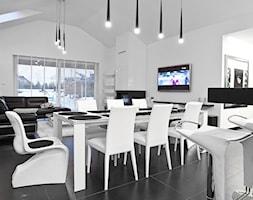wnętrza domu w Bielsku-Białej - zdjęcie od modero architekci