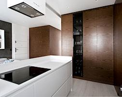 nowoczesny+salon+z+kuchni%C4%85+-+zdj%C4%99cie+od+BYHOUSE+ARCHITECTS