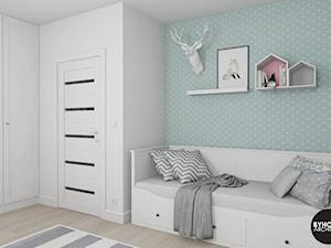 scandiHOUSE - Średni pastelowy miętowy pokój dziecka dla dziewczynki dla nastolatka, styl skandynawski - zdjęcie od BYHOUSE ARCHITECTS