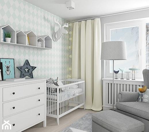 scandihouse redni pok j dziecka dla ch opca dla niemowlaka styl skandynawski zdj cie od. Black Bedroom Furniture Sets. Home Design Ideas