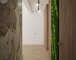 Korytarz+z+zielon%C4%85+%C5%9Bcian%C4%85+-+zdj%C4%99cie+od+Nevi+Studio