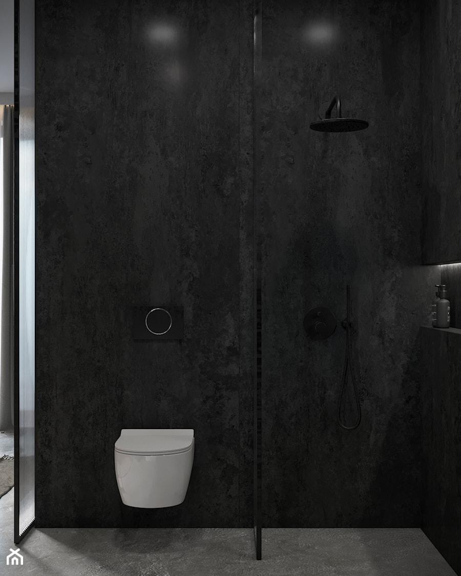 Łazienka przy sypialni - zdjęcie od Nevi Studio