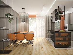 Kuchnia z jadalnią - zdjęcie od Nevi Studio