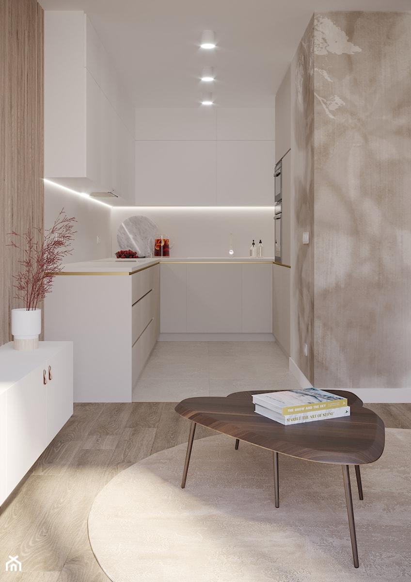 Mieszkanie przy Ślężnej we Wrocławiu - Kuchnia, styl nowoczesny - zdjęcie od Nevi Studio