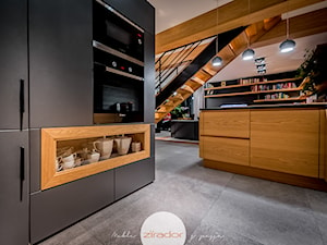 Meble do nowoczesnego domu - Średnia otwarta kuchnia w kształcie litery u, styl nowoczesny - zdjęcie od Zirador - Meble tworzone z pasją