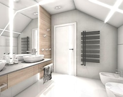 Oświetlenie łazienki Na Poddaszu Pomysły Inspiracje Z
