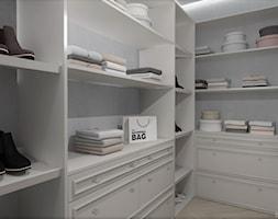 HOLLYWOODZKI SZNYT - Garderoba, styl nowoczesny - zdjęcie od DALMIKO DESIGN Pracownia Projektowa - Homebook