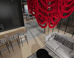 APARTAMENT CZERWONE KORALE ZAKOPANE - Salon, styl nowoczesny - zdjęcie od DALMIKO DESIGN Pracownia Projektowa - Homebook