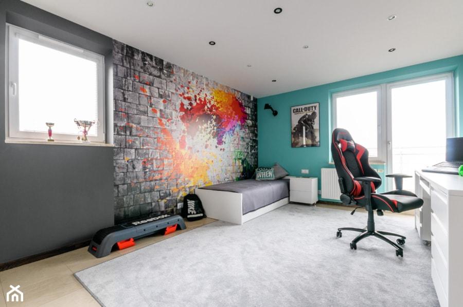 Pokój nastolatka - zdjęcie od ZAWICKA-ID Projektowanie wnętrz - Homebook