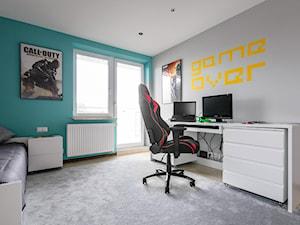 Pokój dla chłopca - zdjęcie od ZAWICKA-ID Projektowanie wnętrz