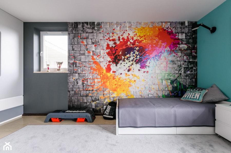 Pokój młodzieżowy - zdjęcie od ZAWICKA-ID Projektowanie wnętrz