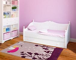 Mały fioletowy pokój dziecka dla dziewczynki dla malucha, styl tradycyjny - zdjęcie od Kids Town