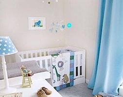 Średni beżowy pokój dziecka dla chłopca dla malucha - zdjęcie od Kids Town