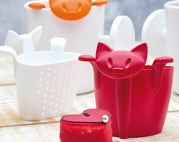 Zaparzaczka do herbaty kotek Koziol Mimmi - zdjęcie od SuperWnetrze.pl - Homebook