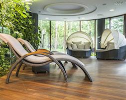 Taras - Duży taras z tyłu domu, styl nowoczesny - zdjęcie od Doram Design - Homebook