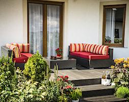 Taras - Średni taras z tyłu domu, styl tradycyjny - zdjęcie od Doram Design - Homebook