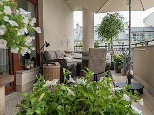 Elegancki balkon