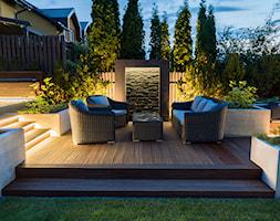 Oświetlenie ogrodu. Ogród nocą - zdjęcie od Miejskie Ziele