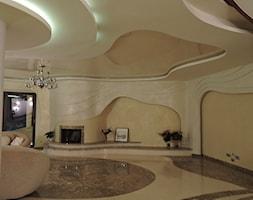 Projekty rezydencji Villanette- salon w rezydencji AMADEO 2 - zdjęcie od Architekci VILLANETTE
