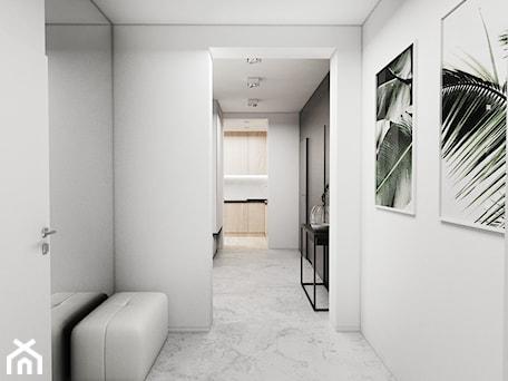 Aranżacje wnętrz - Hol / Przedpokój: Mieszkanie Tychy - Średni biały hol / przedpokój, styl nowoczesny - FOORMA Pracownia Architektury Wnętrz. Przeglądaj, dodawaj i zapisuj najlepsze zdjęcia, pomysły i inspiracje designerskie. W bazie mamy już prawie milion fotografii!
