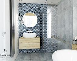 Łazienka - Średnia łazienka, styl vintage - zdjęcie od FOORMA Pracownia Architektury Wnętrz