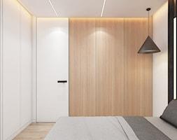 Mieszkanie Siemianowice Śląskie - Sypialnia, styl nowoczesny - zdjęcie od FOORMA Pracownia Architektury Wnętrz - Homebook
