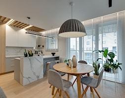 Mieszkanie w Sosnowcu - Kuchnia, styl nowoczesny - zdjęcie od FOORMA Pracownia Architektury Wnętrz - Homebook