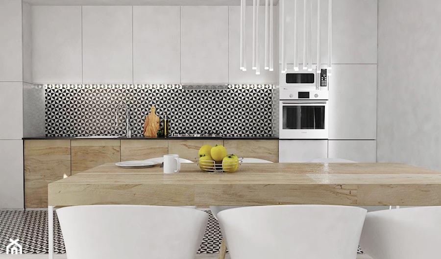 Salon - Kuchnia, styl nowoczesny - zdjęcie od FOORMA Pracownia Architektury Wnętrz