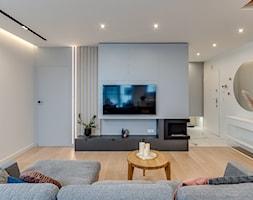Mieszkanie w Sosnowcu - Salon, styl nowoczesny - zdjęcie od FOORMA Pracownia Architektury Wnętrz - Homebook