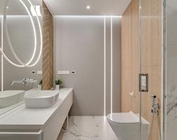 Mieszkanie w Sosnowcu - Łazienka, styl nowoczesny - zdjęcie od FOORMA Pracownia Architektury Wnętrz - Homebook