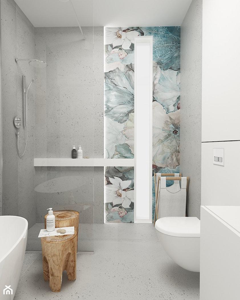 Średnia łazienka w bloku w domu jednorodzinnym bez okna, styl nowoczesny - zdjęcie od FOORMA Pracownia Architektury Wnętrz - Homebook
