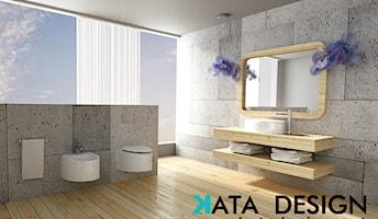Łazienka styl Minimalistyczny - zdjęcie od katadesign