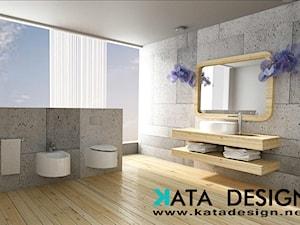 Łazienka, dom 140 m2