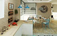 Jadalnia styl Rustykalny - zdjęcie od katadesign