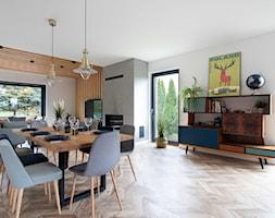 Dom w Węgrzcach - Jadalnia, styl industrialny - zdjęcie od Studio 4 Design - Homebook