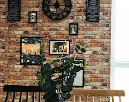 Dom w Krakowie 98 m2 - Mała jadalnia, styl rustykalny - zdjęcie od katadesign
