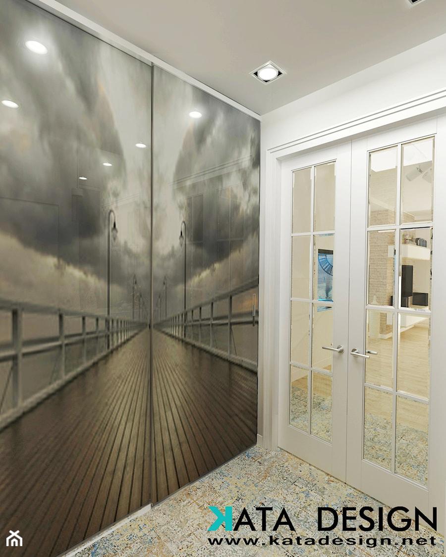 Dom w Skałkach - Hol / przedpokój, styl nowoczesny - zdjęcie od Studio 4 Design