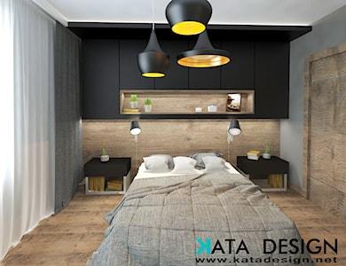 Sypialnia styl Minimalistyczny - zdjęcie od katadesign