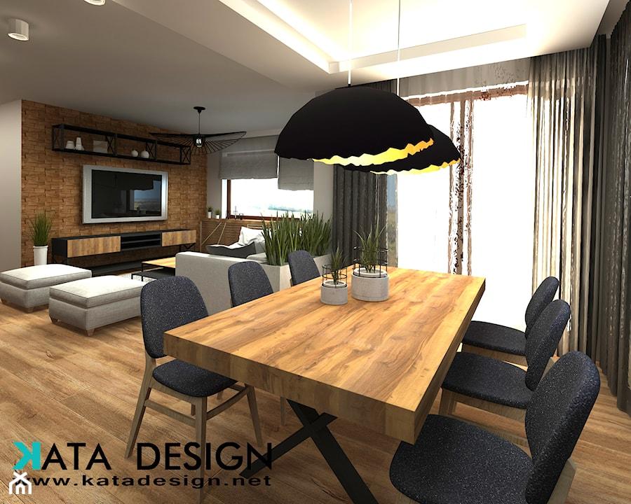 Dom w Kryspinowie - Jadalnia, styl nowoczesny - zdjęcie od Studio 4 Design